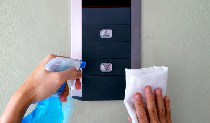 Medidas de desinfección en conjuntos residenciales durante cuarentena