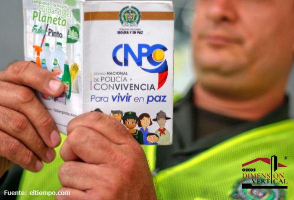 Código de policía aplicado a reglamentación de Propiedad Horizontal