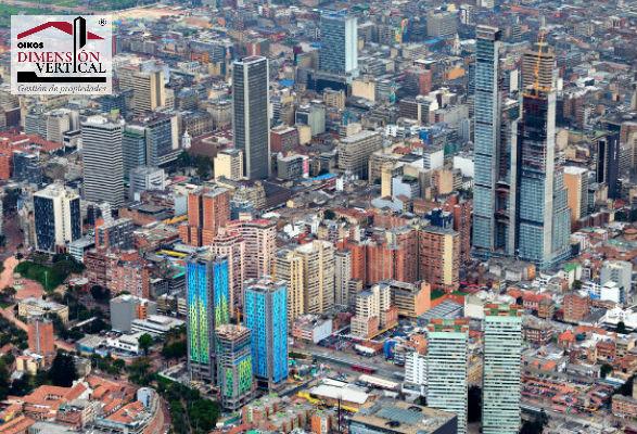Ubicación estratégica del centro de Bogotá.